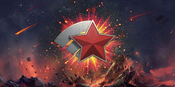 党建军徽图片