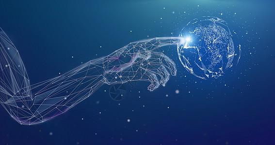 人工智能触控科技图片