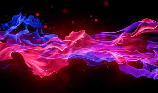 彩色烟雾图片