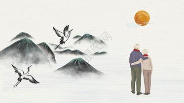 重阳游玩风景图片