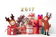 圣诞礼盒装饰图片