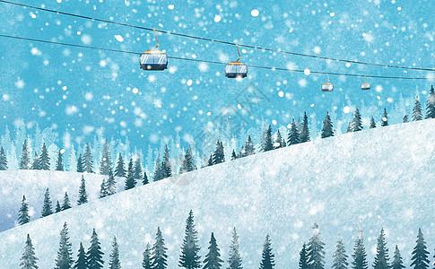 唯美雪景图片