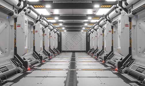 外太空机舱图片