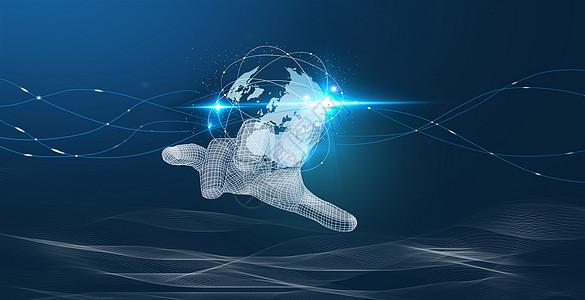 人手触碰科技图片