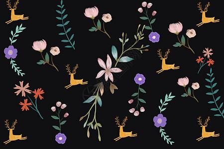 花纹背景素材图片