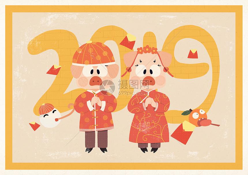 2019春节图片