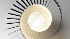 螺旋楼梯场景图片