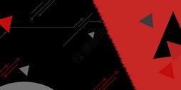 红黑撞色电商背景图片