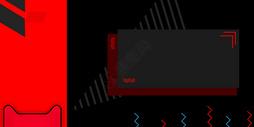 红黑电商背景图片