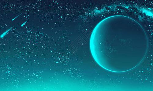 幻世星空场景图片