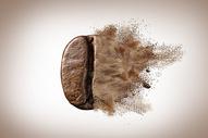创意咖啡豆图片