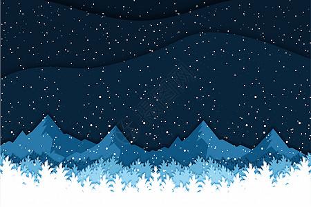 二十四节气之霜降插画图片