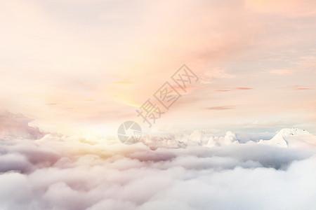 高空云端场景图片