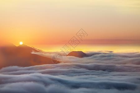 云海创意背景图片