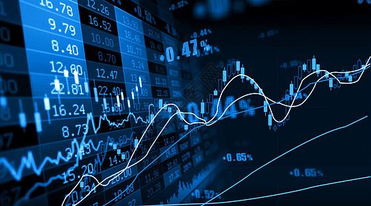 股市背景图片