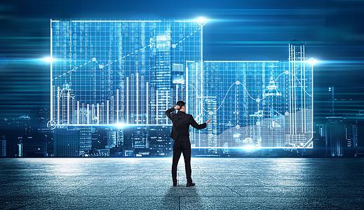 科技智能全息投影图片