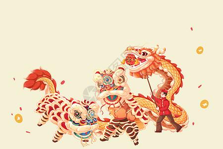 猪年插画图片