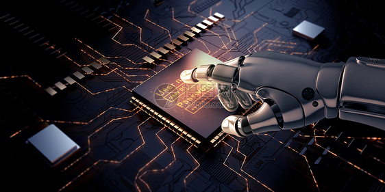 人工智能机械图片