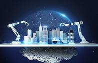 智能机械城市图片