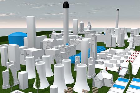 工厂场景图片