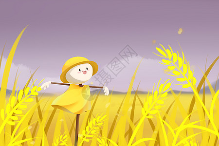 稻草人图片