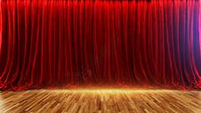 舞台幕布场景图片