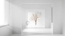 简约抽象空间图片