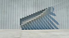 空间楼梯场景图片