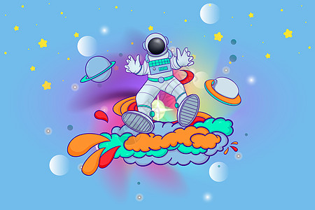 儿童宇航员图片