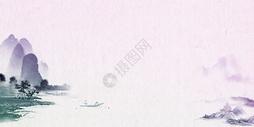 中国古典水墨风背景图片