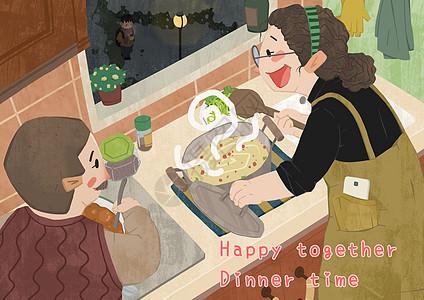 冬夜居家美食图片