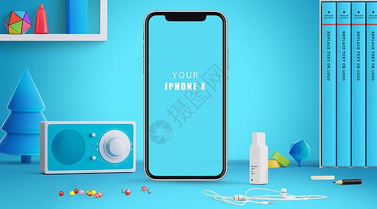 Iphone X手机模型图片