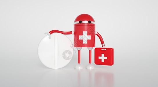 医疗机器人图片