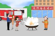 消防安全培训图片