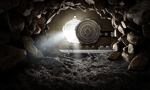 银行保险隧道图片