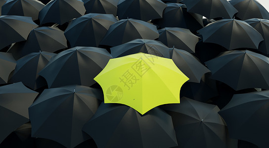 创意雨伞场景图片