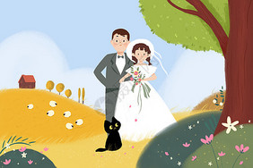 蜜月婚纱照图片