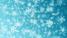 雪花背景图片