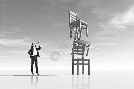 超现实椅子图片