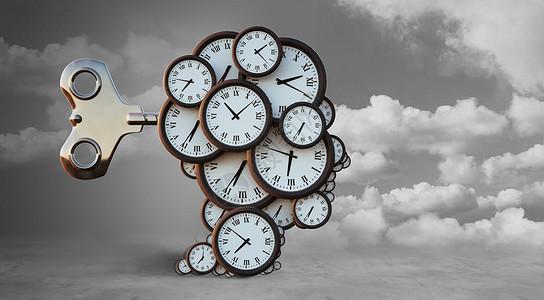创意时钟图片