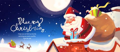 圣诞节自媒体配图图片