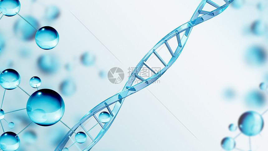 DNA基因链图片