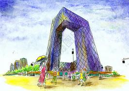 北京建筑街景图片