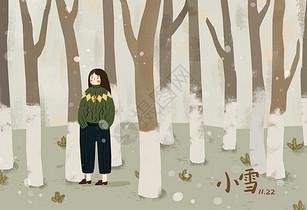 冬日小雪图片