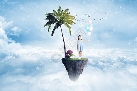 儿童梦幻背景图片