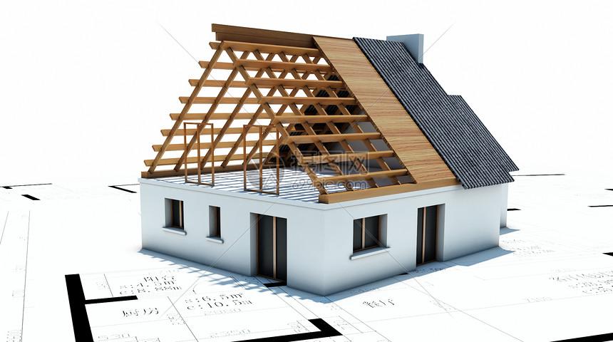 工程房屋图纸图片