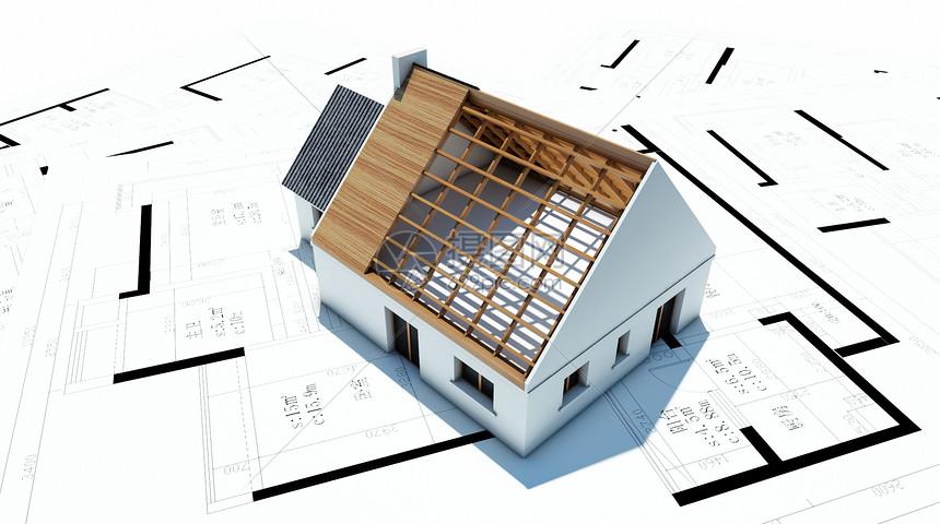 工程建筑图纸图片