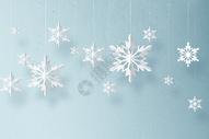 雪花剪纸图片