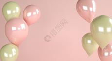抽象气球场景图片