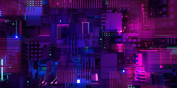科技炫光空间图片